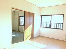 2F洋室・和室は開けてお使い頂く事も出来ます。