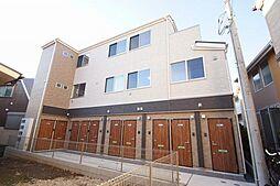 東京都品川区東大井6丁目の賃貸アパートの外観