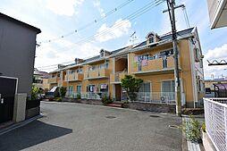 大阪府枚方市西船橋1丁目の賃貸アパートの外観