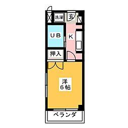CASA NOAH名古屋II[2階]の間取り