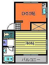 昭和ビル2[3階]の間取り