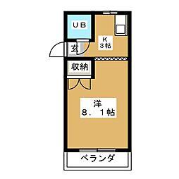 サントピアヤゴト[2階]の間取り