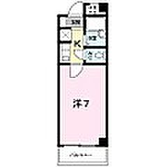 エスペランサ127[203号室]の間取り