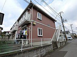 千葉県四街道市美しが丘2丁目の賃貸アパートの外観