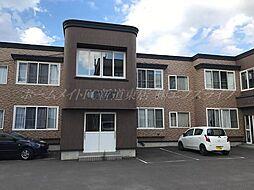 北海道札幌市西区発寒六条7丁目の賃貸アパートの外観