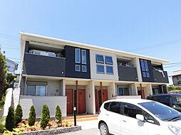 兵庫県三木市志染町東自由が丘3丁目の賃貸アパートの外観