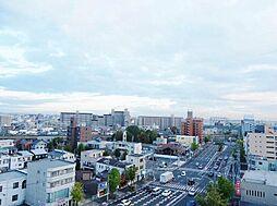 実際の眺望。10階南向きの為陽当たり・眺望共に良好です。