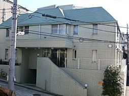 広尾レジデンスC棟[2階]の外観