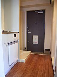 ラ・カセッタの室内洗濯機置場