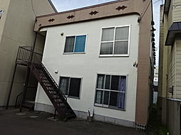 オキツアパート[2階]の外観