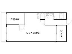 サンフローラ桂[1階]の間取り