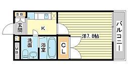 GLAハート飾磨 A棟[A205号室]の間取り
