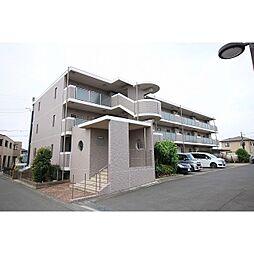 茨城県つくばみらい市紫峰ヶ丘1丁目の賃貸マンションの外観