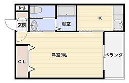 ヴィレッジ加綾北本町[2階]の間取り