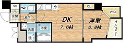 セレニテ梅田EST[10階]の間取り