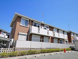 京都府木津川市梅美台3丁目の賃貸アパートの外観