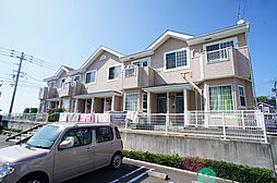 福岡県福岡市東区香椎台5丁目の賃貸アパートの外観
