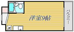 東京都墨田区押上2丁目の賃貸マンションの間取り
