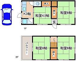 [一戸建] 兵庫県神戸市垂水区乙木2丁目 の賃貸【/】の間取り