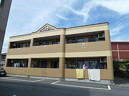 静岡県御殿場市川島田の賃貸アパートの外観