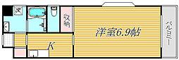 東京都江東区平野4丁目の賃貸マンションの間取り