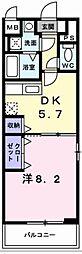 兵庫県神戸市垂水区下畑町373の賃貸マンションの間取り