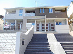 神奈川県横浜市都筑区川和台の賃貸アパートの外観