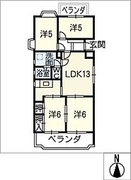 荘苑 富士見台101号[1階]の間取り