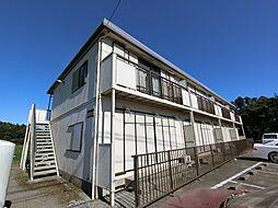千葉県成田市前林の賃貸アパートの外観