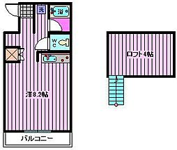 コートアネックスR-1[105号室]の間取り