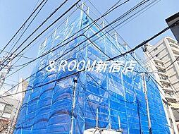 東京都目黒区下目黒2丁目の賃貸アパートの外観