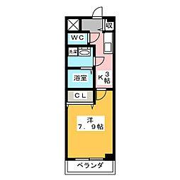 サニーコートMT[3階]の間取り