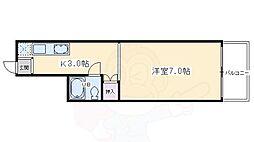 七条駅 3.6万円
