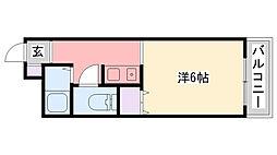 甲子園セブン[305号室]の間取り