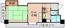 233博多ビルII[3階]の間取り
