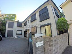 兵庫県宝塚市山本台2丁目の賃貸アパートの外観