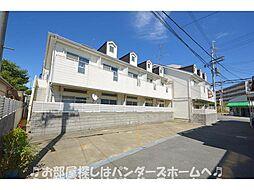 大阪府枚方市上島東町の賃貸アパートの外観