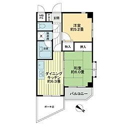 ライオンズマンション西川口南[2階]の間取り