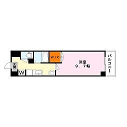 アートプラザ124[6階]の間取り