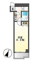 ラウムズ富士見町[7階]の間取り