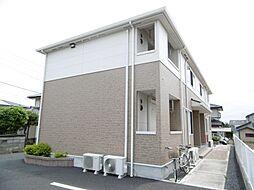 茨城県日立市鮎川町2丁目の賃貸アパートの外観