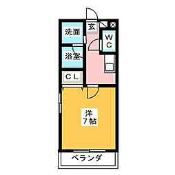 ポートタウンドルフィンII[6階]の間取り