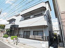 横山コーポ[201号室]の外観