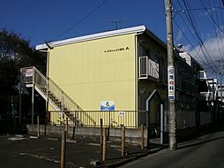 宮城県仙台市若林区連坊2丁目の賃貸アパートの外観