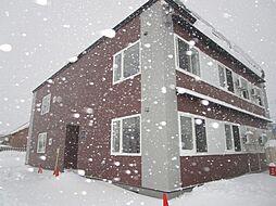 北海道札幌市北区拓北一条2丁目の賃貸アパートの外観
