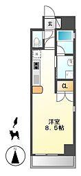 サムティ東別院RESIDENCE[12階]の間取り