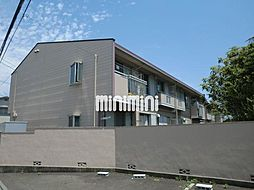 コーポ蜂屋敷A[2階]の外観