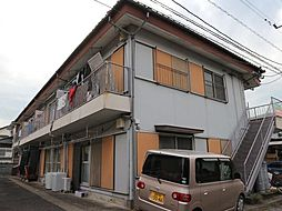 安井アパート[1階]の外観