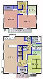 [一戸建] 茨城県水戸市見川3丁目 の賃貸【/】の間取り