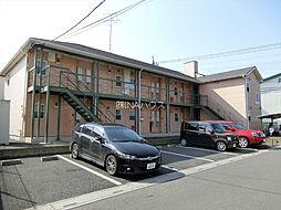 埼玉県北足立郡伊奈町小針内宿の賃貸アパートの外観